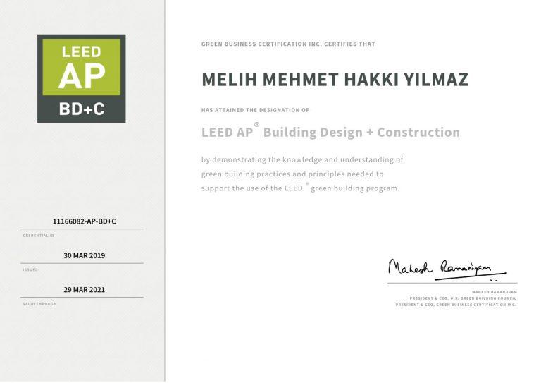MELIH MEHMET HAKKI-Building Design + Construction